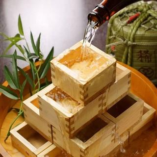 100種の焼酎が並ぶ圧巻の品揃え〜季節料理のマリアージュを〜