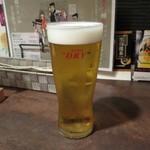 鉄板焼 Mangetsu - 生ビール