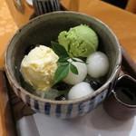 コカルド - 抹茶プリンみつ豆