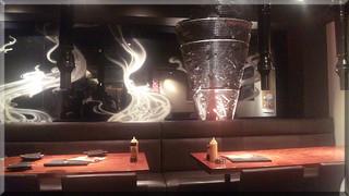 炭火焼ホルモン ぐう はなれ - 店内(2010/11/24)