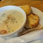 メルティング ポット - 里芋とチキンのクリーム