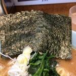 横浜家系 侍 - 海苔増し(¥50円)
