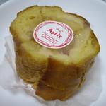 BAKE HOUSE テディ - アップルのパン130円(内税)。