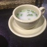 インド料理 シャティ - スープ(2回目訪問時撮影)