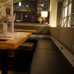 がブリチキン。松江駅前店 - 店内の様子 テーブル席