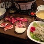 瓦亭 - 平成28年10月8日サービスランチ1,000円税別