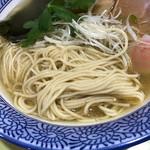 溝ノ百合 - 麺アップ