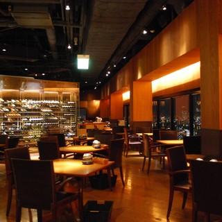 【夜景が見える】38階から大阪の夜景を見下ろす絶景