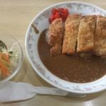 テラスティーアップ - 料理写真:タイムランチC(カツカレー)500円