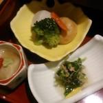 美濃吉 - [料理] 京弁当 下段 煮物3種 全景♪w