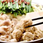 博多発祥 とり皮・もつ鍋 よのすけ - ごぼうの力強い風味がほっとする美味しさです