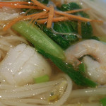 チャンパー - ビーフンつゆ麺;アップ