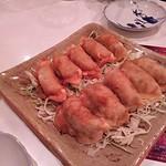 みやこんじょ - 丸岡のギョウザ 食べやすいように揚げ餃子