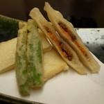 湖里庵 - 鮒寿司、飯の揚げ物