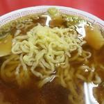 源来軒 - ラーメン麺アップw