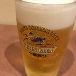 駅前食堂 だいこっく - 生ビール