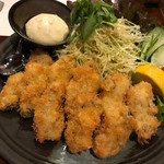 魚筍 - 宮崎産牡蠣フライ