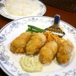 テルポリート from ユキノヤ - 季節限定 カキフライランチ ¥1,150