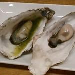 かき焼き はじめ - [料理] 焼き牡蠣2種 全景♪w ②
