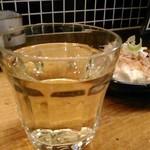 かき焼き はじめ - [ドリンク] グラスワイン (白) アップ♪w