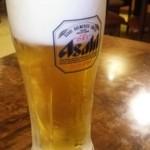 酔東坡 - 生ビール