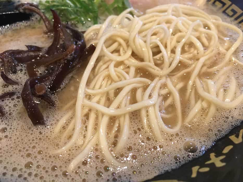 豚骨ラーメン 三福