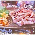 プロレス道場 - 料理写真:皆様こんばんは。  量が多くて リースナブルデス。 おいしかった!