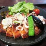 ぶた右衛門 - 豚ロースニンニク味噌焼き