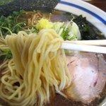 波音食堂 - スープによく合うしなやかな麺!