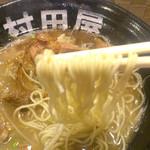 村田屋 - 残念ながら細麺