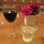 59044229 - 赤のグラスワイン