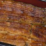 大森 野田岩 - 松定食:鰻重