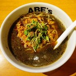 ラーメン ABE's - 黒胡麻担々麺