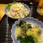 旬彩 侘助 - 料理写真:お通し(大皿から選びます)