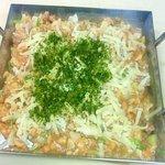 野崎肉店食事処 - 鉄板もんじゃ:チーズもんじゃ