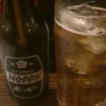 ふく助~西台駅の鉄板居酒屋~ - ホッピーセットは500円