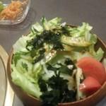 新羅 - サラダ