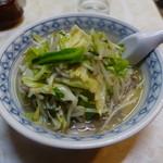 59052049 - タンメン (麺&野菜大盛り)