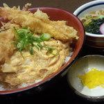 かんざし - 海老かつ丼定食◎
