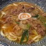 つるっと - 弁慶肉うどん 850円 (2016.10)