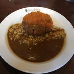 CoCo壱番屋 - 料理写真:メンチカツカレー¥700、ベースのカレーはポークだそうです。