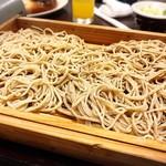 味乃家 魚野川 - 十割蕎麦と自然薯蕎麦のミックス