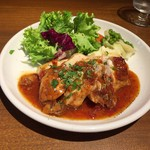 BOUCHERIE AmiaBras - 燻製鶏胸肉のローストアップ