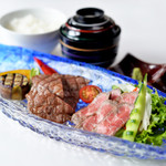 ●但馬牛食べ比べセット★数量限定★(ディナーメニュー)
