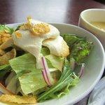 五龍閣 - 豆腐サラダ&スープ