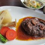 五龍閣 - 京野菜とハンバーグ