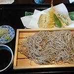 猪口猪口 - 天ぷらせいろ 980円