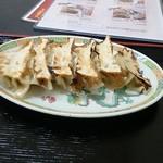 中国亭 - Aセットの餃子