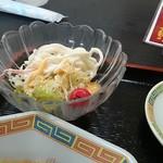 中国亭 - Aセットのサラダ