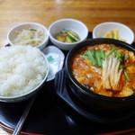 59061794 - 純豆腐チゲ・大(680円)